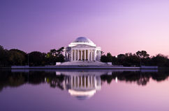 Thomas Jefferson Memorial no Washington DC, EUA Imagem de Stock Royalty Free
