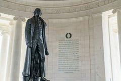 Thomas Jefferson Memorial Statue Royalty Free Stock Photos