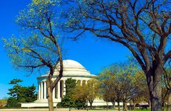 Thomas Jefferson Memorial, Washington DC stock foto
