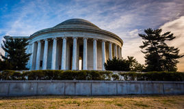 The Thomas Jefferson Memorial, in Washington, DC. Stock Image
