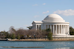 Thomas Jefferson memorial in Washington DC Royalty Free Stock Photo