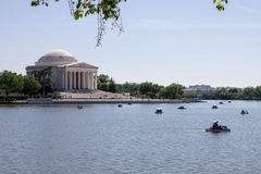 Thomas Jefferson memorial Washington DC Royalty Free Stock Photo