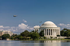 Thomas Jefferson memorial Washington DC Stock Photography