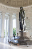 Thomas Jefferson Memorial in Washington DC, de V stock afbeelding