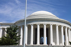 Thomas Jefferson memorial Washington DC Stock Photo