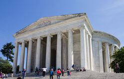Thomas Jefferson memorial Washington DC Royalty Free Stock Images