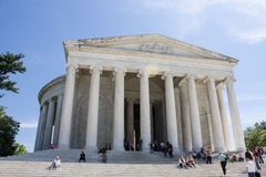 Thomas Jefferson memorial Washington DC Stock Photos