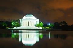 The Thomas Jefferson Memorial in Washington, DC Royalty Free Stock Image