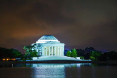 The Thomas Jefferson Memorial in Washington, DC Stock Images