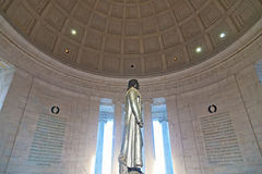 Thomas Jefferson Memorial in Washington DC. Royalty Free Stock Photography