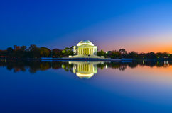 Thomas Jefferson Memorial in Washington DC, USA. Thomas Jefferson Memorial, DC, USA Royalty Free Stock Image