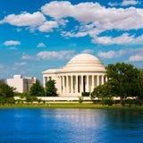 Thomas Jefferson memorial in Washington DC Royalty Free Stock Photos