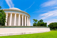 Thomas Jefferson memorial in Washington DC Royalty Free Stock Images