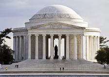 Thomas Jefferson minnesmärke Royaltyfri Bild
