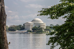 Thomas Jefferson minnesmärkeWashington DC Royaltyfri Bild
