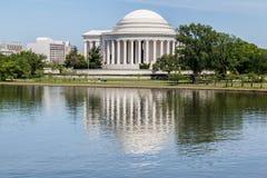 Thomas Jefferson minnesmärkeWashington DC Arkivfoto