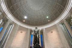 Thomas Jefferson Monument Interior Architecture Washington DC Royalty Free Stock Photo