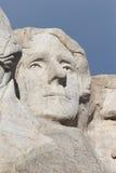 Thomas Jefferson - mount rushmore national memorial Stock Photography