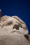 Thomas Jefferson at Mt. Rushmore Stock Images