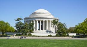 Thomas Jefferson pomnik w washington dc KOLUMBIA, KWIECIEŃ - 7, 2017 - washington dc - Fotografia Royalty Free
