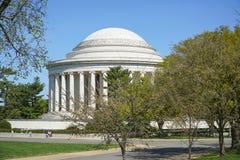 Thomas Jefferson pomnik w washington dc KOLUMBIA, KWIECIEŃ - 7, 2017 - washington dc - Zdjęcia Stock
