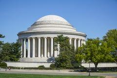 Thomas Jefferson pomnik w washington dc KOLUMBIA, KWIECIEŃ - 7, 2017 - washington dc - Zdjęcie Royalty Free