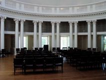 Thomas Jefferson Rotunda. On University of Virginia royalty free stock photos