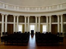 Thomas Jefferson Rotunda. On University of Virginia royalty free stock photo