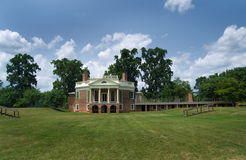 Thomas Jefferson's - Poplar Forest Stock Photos