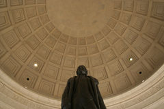 Thomas Jefferson statue Royalty Free Stock Image