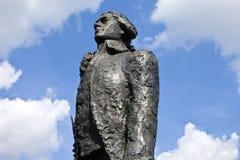 Thomas Jefferson Statue i Paris fotografering för bildbyråer