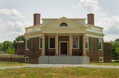 Thomas Jefferson - Topolowy las Obraz Stock