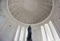Thomas- Jeffersondenkmal Stockbild