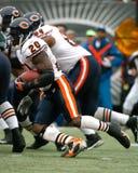 Thomas Jones, Chicago Bears Foto de archivo libre de regalías