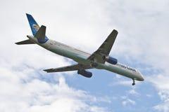 Thomas kock Boeing 757 Royaltyfri Fotografi