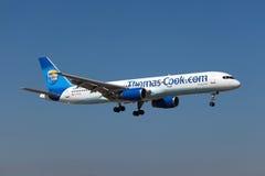 Thomas Kucbarski Boeing 757-200 Obrazy Stock