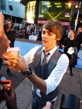 Thomas Law At The Charlie St Cloud Premiere Royalty Free Stock Image