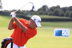 Thomas Levet at The French golf Open 2013 Stock Image
