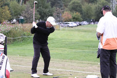 Thomas Levet, Vivendi golf cup, sept 2010 Stock Image