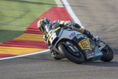 Thomas Luthi Moto2 Grand Prix Movistar Aragà ³ ν Στοκ Φωτογραφίες