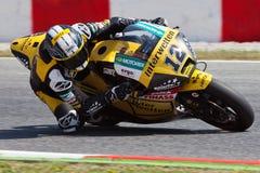 Thomas Luthi, Moto2 Montmelo Obraz Stock