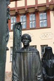 The Thomas Müntzer monument. In Stolberg Royalty Free Stock Photo
