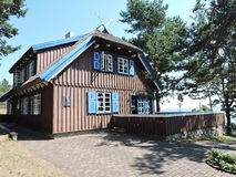 Thomas Mann House Litauen royaltyfria foton