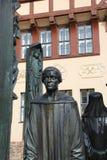 The Thomas Müntzer monument Royalty Free Stock Photo