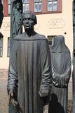 The Thomas Müntzer monument Stock Photography