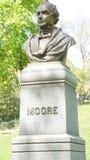 Thomas Moore Statue i New York Arkivfoton