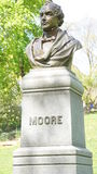 Thomas Moore Statue in New York. Thomas Moore Statue in Central Park, New York Stock Photos