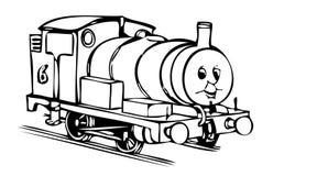 Thomas-Motor - Percy Lizenzfreies Stockbild
