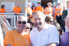 Thomas Mulcair Poses for a Photo Stock Photography