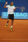 Thomas Muster - Praag opent 2011 Stock Fotografie
